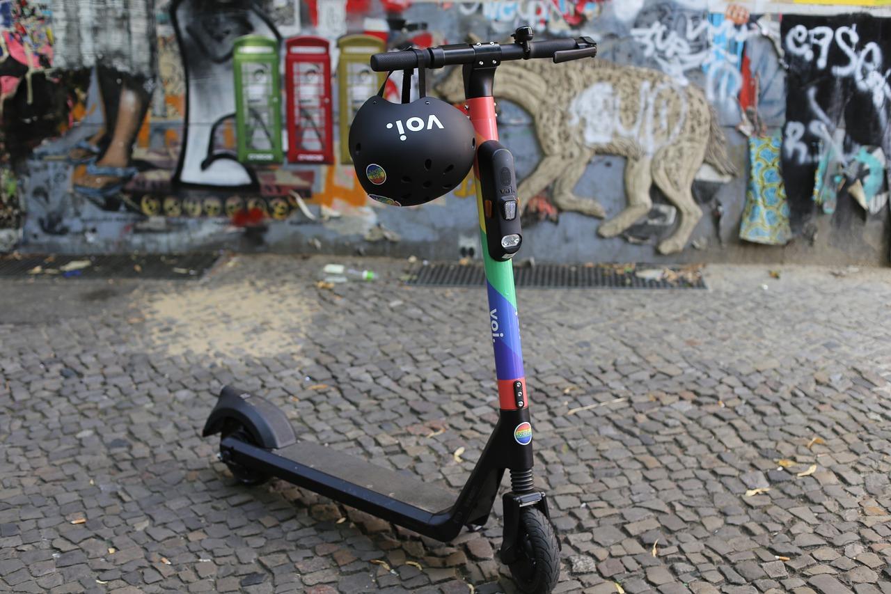 Kan el-løbehjul hjælpe mod forureningen i byerne?